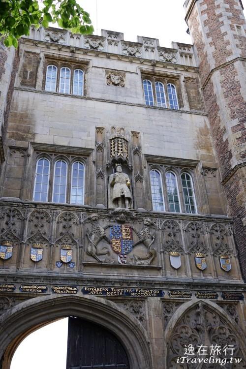 劍橋, Cambridge, 三一學院, Trinity College