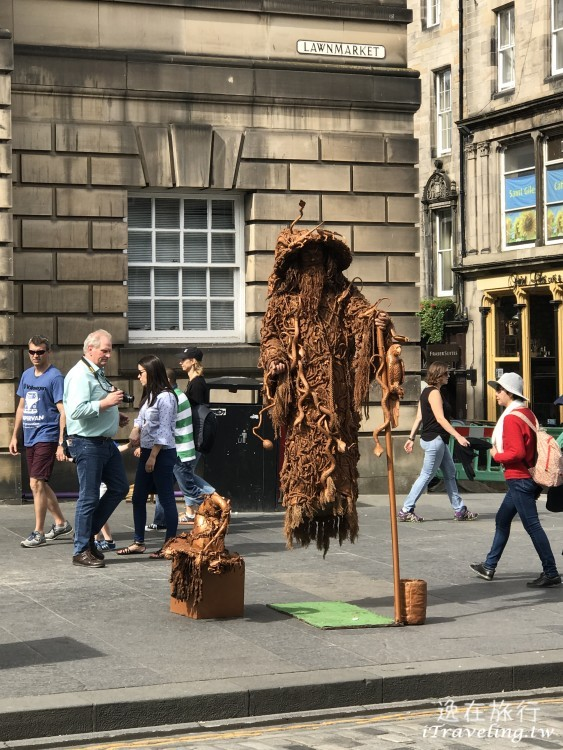 Royal Mile Street Artist
